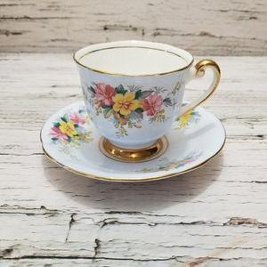 Vintage Collectable Royal Windsor Teacup & Saucer